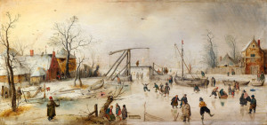 Hendrick Avercamp - Dutch Winter Scene