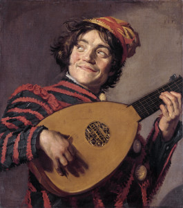 Frans Hals - The Lute Player